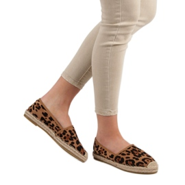 Spotted Espadrilles brown 3