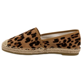 Spotted Espadrilles brown 5