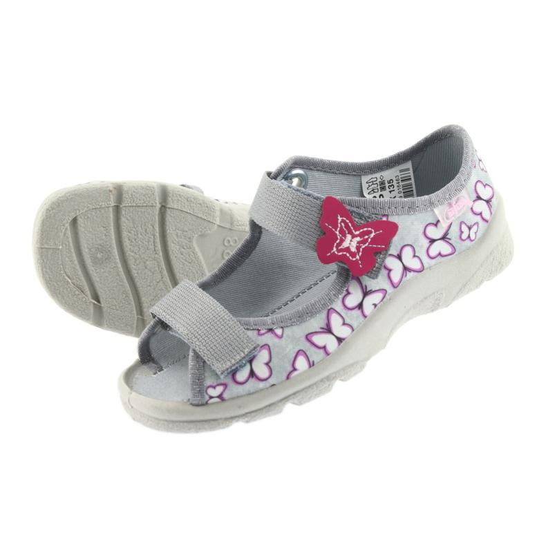 Befado children's sandals butterflies 969X135 picture 4