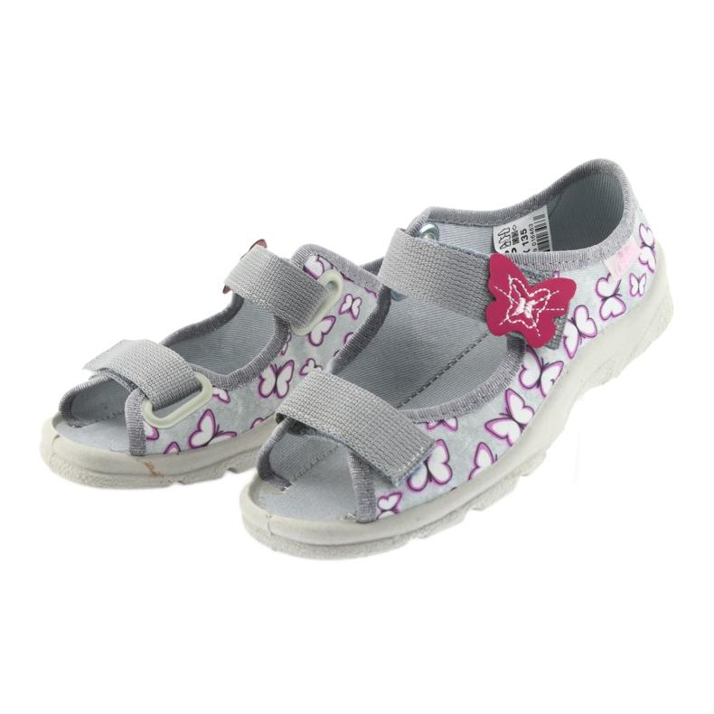 Befado children's sandals butterflies 969X135 picture 3