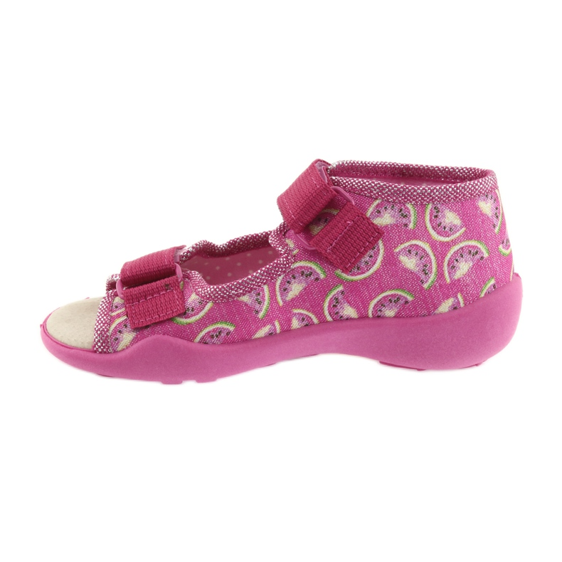 Pink Befado yellow children's shoes 342P004 picture 3