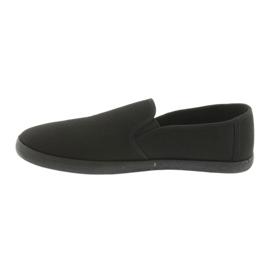 Black slip-on ATLETICO sneakers 2