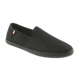 Black slip-on ATLETICO sneakers 1