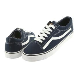 AlaVans Sneakers, navy blue DK white 4