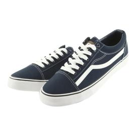 AlaVans Sneakers, navy blue DK white 3