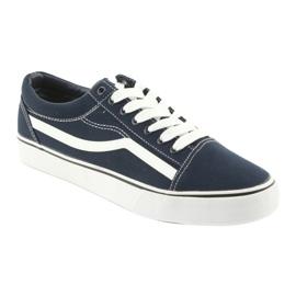 AlaVans Sneakers, navy blue DK white 1