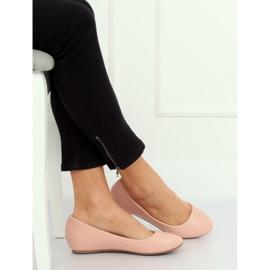 Wedge ballerinas pink 7849-P Pink 1