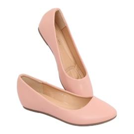 Wedge ballerinas pink 7849-P Pink 2