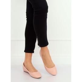 Wedge ballerinas pink 7849-P Pink 3