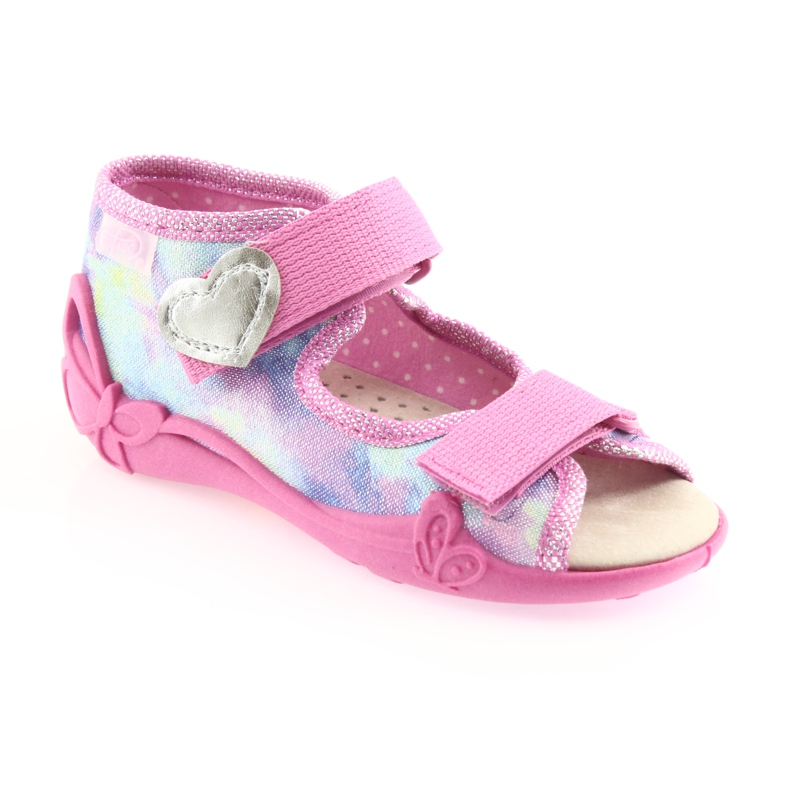 Befado yellow children's shoes 342P005 picture 2