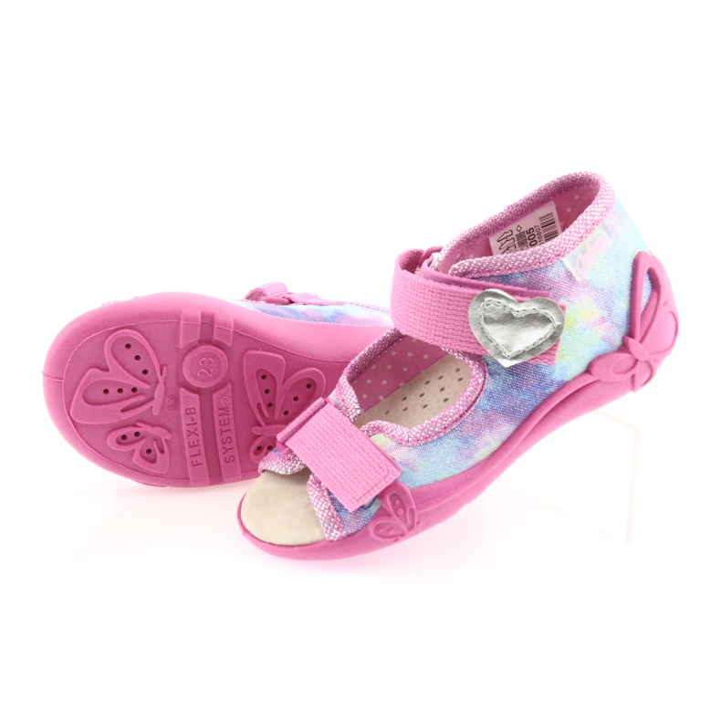 Befado yellow children's shoes 342P005 picture 6