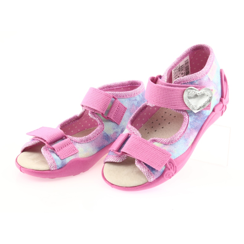 Befado yellow children's shoes 342P005 picture 4