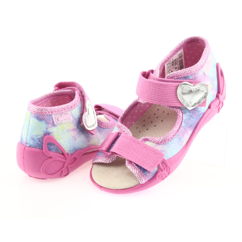 Befado yellow children's shoes 342P005 picture 5