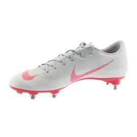 Nike Mercurial Vapor 12 Academy Sg Pro M AH7376-060 Football Shoes grey multicolored 1