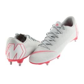 Nike Mercurial Vapor 12 Academy Sg Pro M AH7376-060 Football Shoes grey multicolored 3