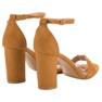 Anesia Paris brown Sexy Camel Sandals picture 6