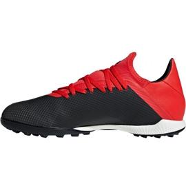 Football shoes adidas X 18.3 Tf M BB9398 black black 2