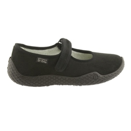 Befado women's shoes pu - young 197D002 black 1