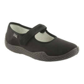 Befado women's shoes pu - young 197D002 black 2