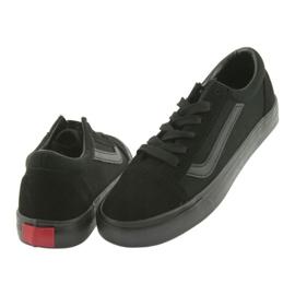 AlaVans Atletico 18081 tied sneakers. Black 4