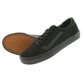AlaVans Atletico 18081 tied sneakers. Black 5