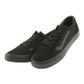 AlaVans Atletico 18081 tied sneakers. Black 3
