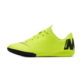 Indoor shoes Nike Mercurial VaporX 12 Academy Ps Ic Jr AH7352-701 yellow yellow 1