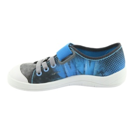 Befado children's shoes 251Y120 blue grey 3