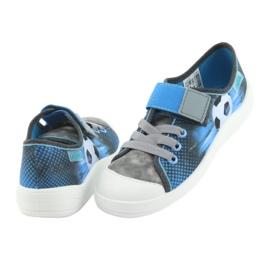 Befado children's shoes 251Y120 blue grey 5