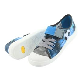 Befado children's shoes 251Y120 blue grey 6