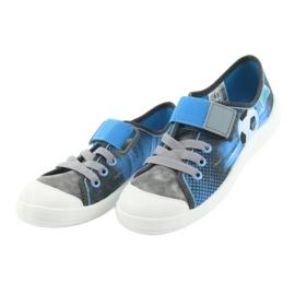 Befado children's shoes 251Y120 blue grey 4