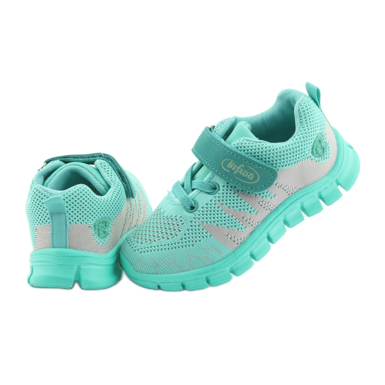 Green Befado children's shoes up to 23 cm 516X026 picture 5