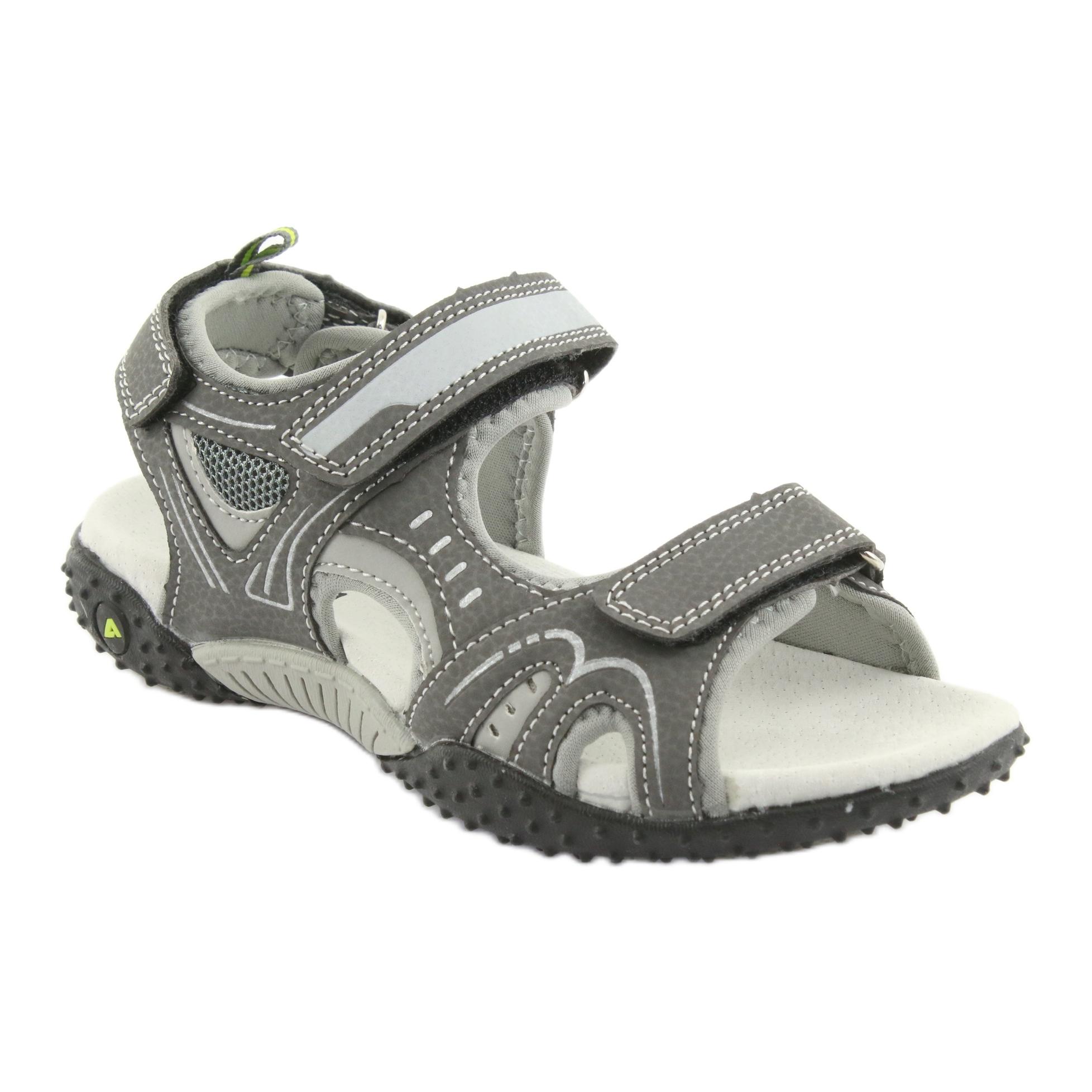 American Club Gray Sandals For Boy
