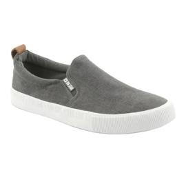 Big Star 174162 slip-on sneakers grey 1