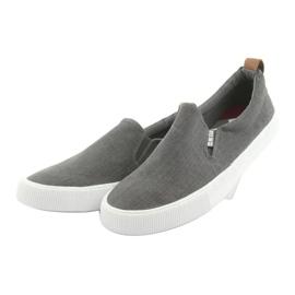 Big Star 174162 slip-on sneakers grey 3