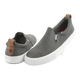 Big Star 174162 slip-on sneakers grey 4