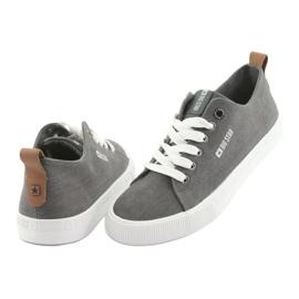 Men's gray sneakers Big Star 174165 grey 4