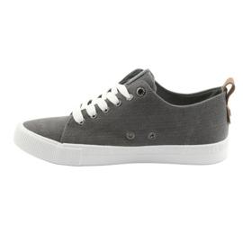 Men's gray sneakers Big Star 174165 grey 2