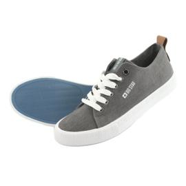 Men's gray sneakers Big Star 174165 grey 5