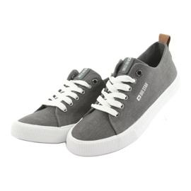 Men's gray sneakers Big Star 174165 grey 3