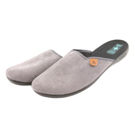 Slippers Adanex men's slippers gray grey 3