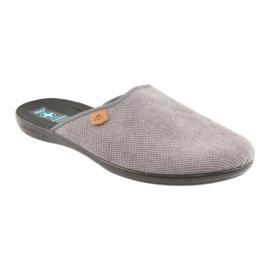 Slippers Adanex men's slippers gray grey 1