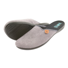 Slippers Adanex men's slippers gray grey 4