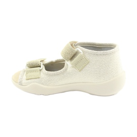 Befado yellow children's shoes 342P003 2