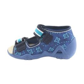 Befado yellow children's shoes 350P004 3