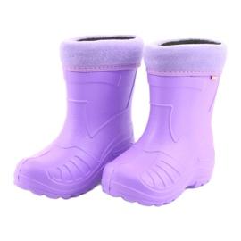 Befado children's footwear kalosz-fiolet 162X102 violet 4