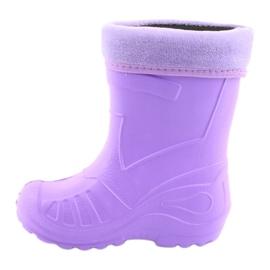 Befado children's footwear kalosz-fiolet 162X102 violet 3
