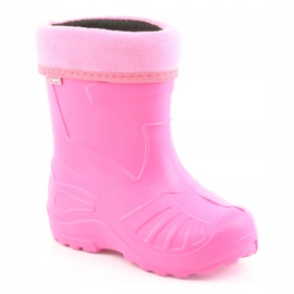 Befado children's shoes galosh - pink 162P101 2