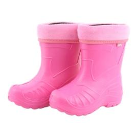 Befado children's footwear kalosz- róż 162X101 pink 4