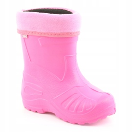 Befado children's footwear kalosz- róż 162X101 pink 2